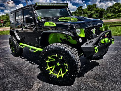 2018 Jeep Wrangler JK Unlimited RUBICON CUSTOM LIFTED 37