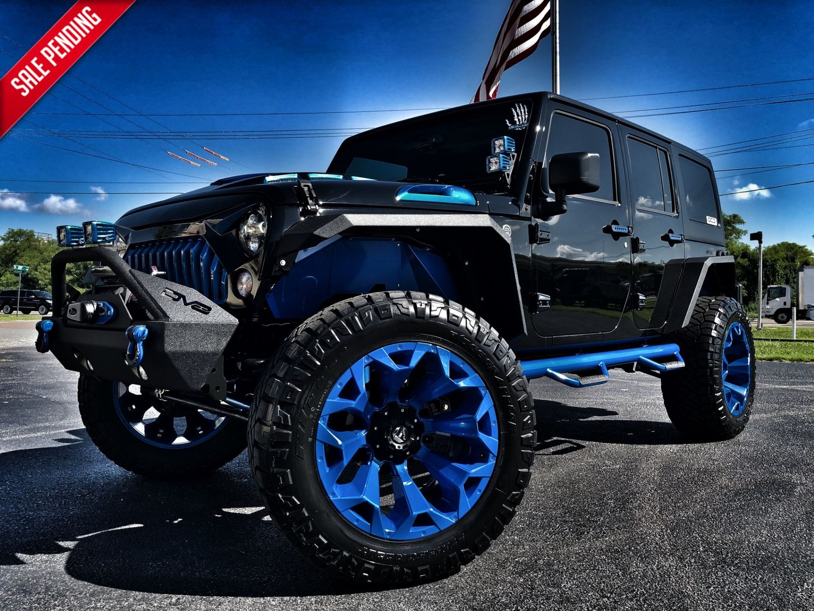 2018 Jeep Wrangler Jk Unlimited Rubicon Custom Lifted Leather Fuel Filter Hardtop 37s Florida Bayshore Automotive In