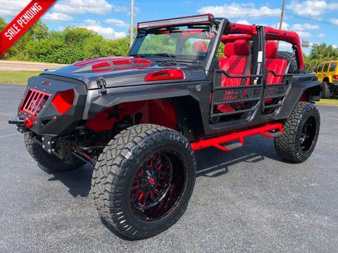 2018 Jeep Wrangler JK Unlimited GRUMPER CUSTOM LIFTED 4.88 YUKON GEARS 37