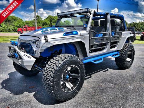 2018 Jeep Wrangler JK Unlimited CUSTOM LIFTED LEATHER SAHARA OCD N-FAB DV8 JKS in , Florida