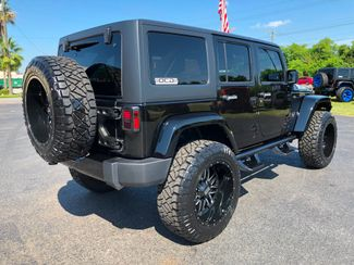 2018 Jeep Wrangler JK Unlimited BLACK N SILVER SAHARA CUSTOM LIFTED LEATHER   Florida  Bayshore Automotive   in , Florida