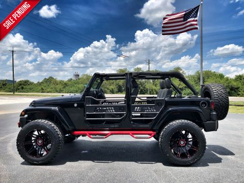2018 Jeep Wrangler JK Unlimited CUSTOM SAHARA HARDTOP LEATHER OCD XF N-FAB  in , Florida
