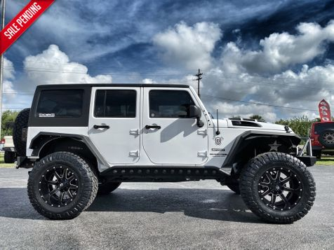 2018 Jeep Wrangler JK Unlimited CUSTOM LIFTED LEATHER HARDTOP 37