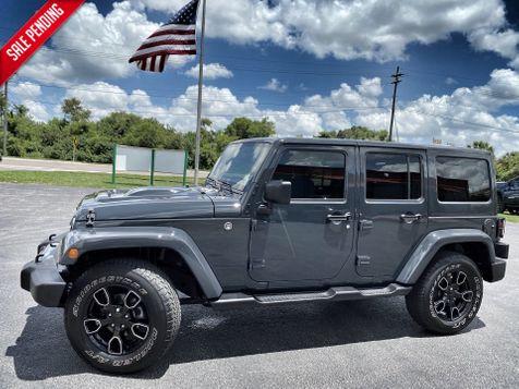 2018 Jeep Wrangler JK Unlimited ALTITUDE LEATHER SAHARA NAV DUAL TOP ALPINE in Plant City, Florida