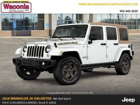 2018 Jeep Wrangler JK Unlimited Golden Eagle in Victoria, MN