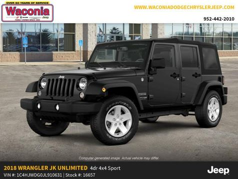 2018 Jeep Wrangler JK Unlimited Sport S in Victoria, MN