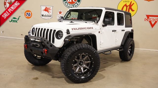 2018 Jeep Wrangler JL Unlimited Rubicon 4X4 DUPONT KEVLAR,LIFTED,NAV,LED'S