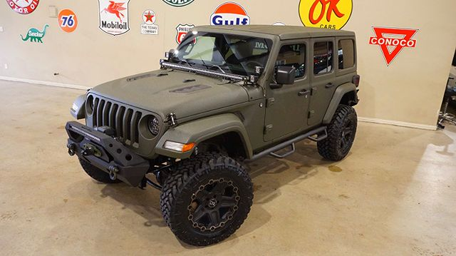2018 Jeep Wrangler JL Unlimited 4X4,DUPONT KEVLAR,LIFTED,HTD LTH,LED'S