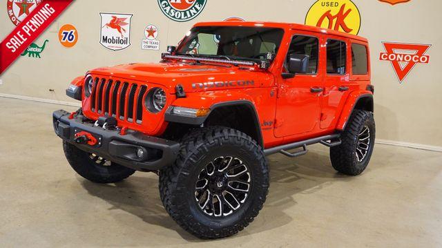 2018 Jeep Wrangler JL Unlimited Rubicon 4X4 CUSTOM,LIFTED,NAV,HTD LTH,FUEL WHLS