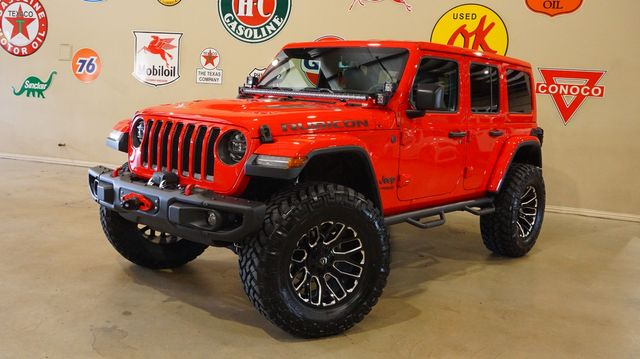 2018 Jeep Wrangler JL Unlimited Rubicon 4X4 CUSTOM,LIFTED,LED'S,FUEL WHLS in Carrollton, TX 75006