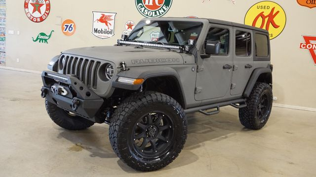 2018 Jeep Wrangler JL Unlimited Rubicon 4X4 CUSTOM,LIFTED,NAV,HTD LTH,ALPINE SYS