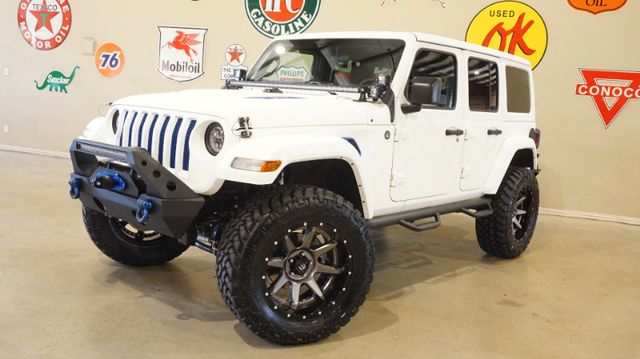 2018 Jeep Wrangler JL Unlimited Sport 4X4,DUPONT KEVLAR,LIFTED,LED'S,FUEL WHLS in Carrollton, TX 75006