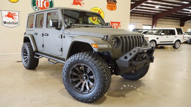 2018 Jeep Wrangler JL Unlimited Rubicon 4X4 CUSTOM,LIFTED,NAV,HTD LTH,FUEL WHLS