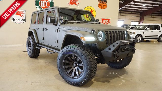 2018 Jeep Wrangler JL Unlimited Rubicon 4X4,DUPONT KEVLAR,LIFTED,NAV, LTH,FUEL WHL