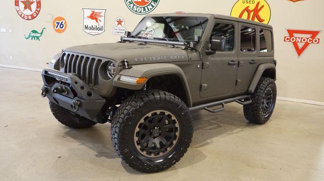 2018 Jeep Wrangler JL Unlimited Rubicon 4X4,DUPONT KEVLAR ,LIFTED,NAV, LTH,ALPINE