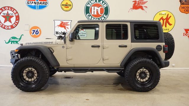 2018 Jeep Wrangler JL Unlimited Rubicon 4X4 DUPONT KEVLAR,LIFTED,NAV,HTD LTH