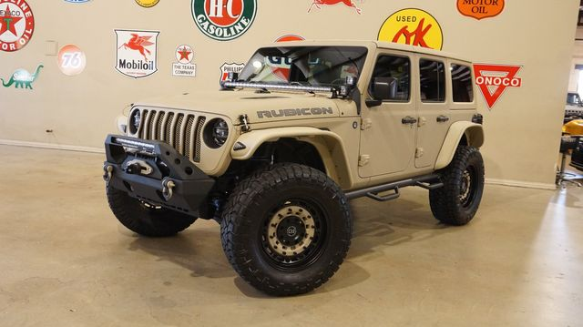 2018 Jeep Wrangler JL Unlimited Rubicon 4X4 DUPONT KEVLAR,LIFTED,LED'S