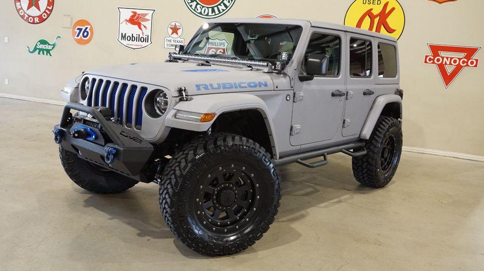 2018 Jeep Wrangler Jl Unlimited Rubicon 4x4 Dupont Kevlar Lifted Nav