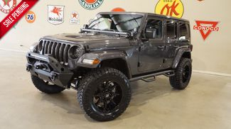 2018 Jeep Wrangler JL Unlimited Sport 4X4 CUSTOM,LIFTED,HTD LTH,ALPINE SYS in Carrollton, TX 75006