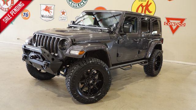 2018 Jeep Wrangler JL Unlimited Sport 4X4 CUSTOM,LIFTED,HTD LTH,ALPINE SYS