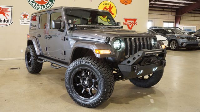 2018 Jeep Wrangler JL Unlimited Sport 4X4 CUSTOM,LIFTED,HTD LTH,ALPINE SYS in Carrollton, TX 75006