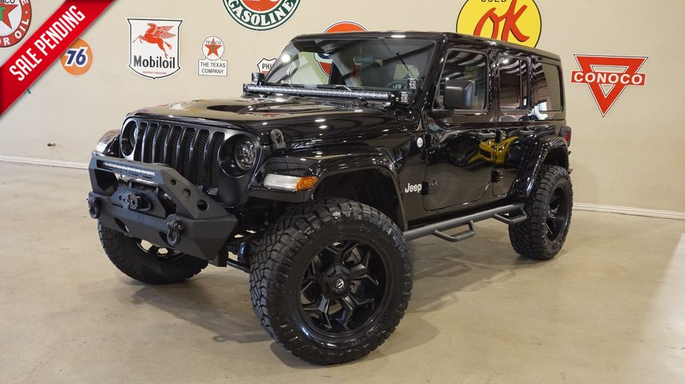Lifted Jeep Wrangler >> 2018 Jeep Wrangler Jl Unlimited Sport 4x4 Custom Lifted Htd Lhtr
