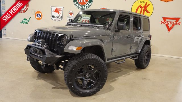 2018 Jeep Wrangler JL Unlimited Sport 4X4 CUSTOM,LIFTED,HTD LTH,ALPINE