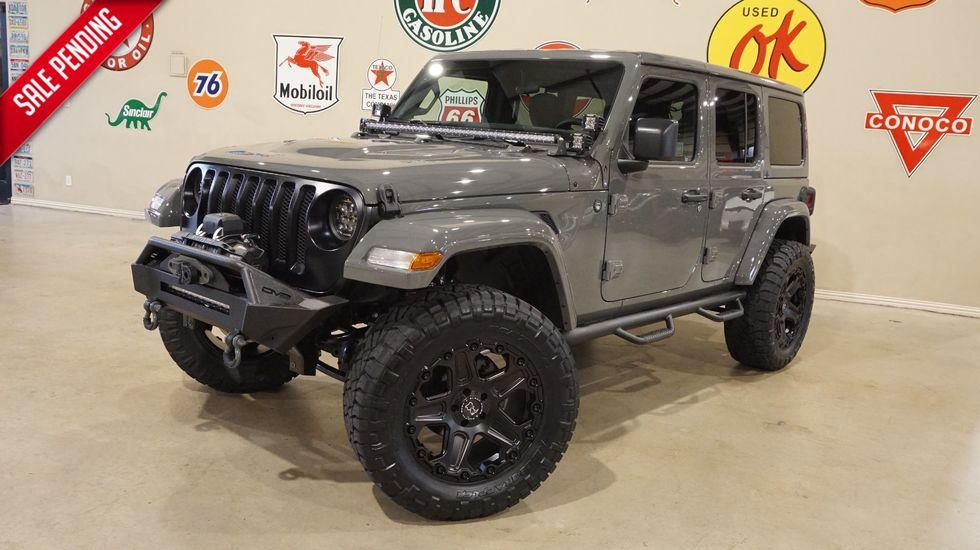 2018 Jeep Wrangler Jl Unlimited Sport 4x4 Custom Lifted Htd Lth Alpine Carrollton Tx Texas Vehicle Exchange