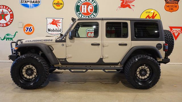 2018 Jeep Wrangler JL Unlimited Rubicon 4X4 DUPONT KEVLAR,LIFTED,LTH,LED'S