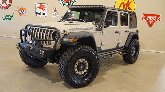 2018 Jeep Wrangler JL Unlimited Rubicon 4X4 DUPONT KEVLAR,LIFTED,LTH,LED'S in Carrollton, TX 75006