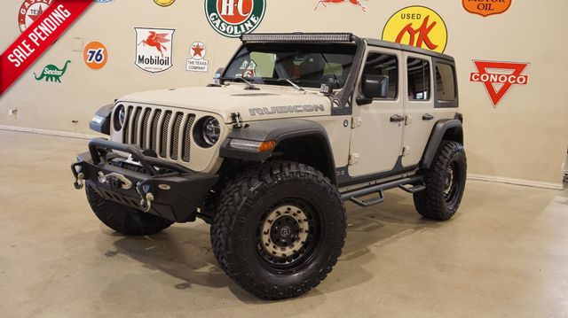 2018 Jeep Wrangler JL Unlimited Rubicon 4X4 DUPONT KEVLAR,LIFT,LTH,LED'S