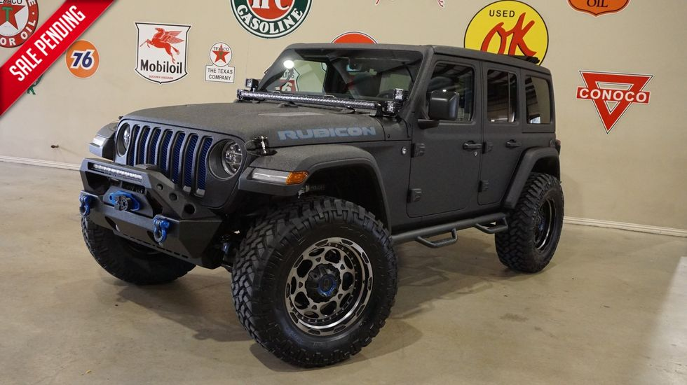 2018 Jeep Wrangler Jl Unlimited Rubicon 4x4 Sky Top Dupont Kevlar Lifted Led S Carrollton Tx Texas Vehicle Exchange