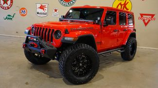 2018 Jeep Wrangler JL Unlimited Rubicon 4X4 CUSTOM,LIFTED,NAV,HTD LTH,FUEL WHLS in Carrollton, TX 75006