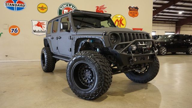 2018 Jeep Wrangler JL Unlimited Sport 4X4 FMJ,DUPONT KEVLAR,LIFTED,LED'S