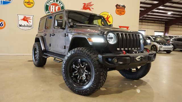 2018 Jeep Wrangler JL Unlimited Rubicon 4X4 CUSTOM,LIFTED,LED'S,NAV,HTD LTH in Carrollton, TX 75006