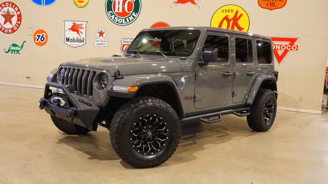 2018 Jeep Wrangler JL Unlimited Rubicon 4X4 LED'S,NAV,HTD LTH,FUEL WHLS