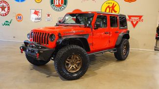 2018 Jeep Wrangler JL Unlimited Rubicon 4X4 LIFTED,BUMPERS,LED'S,FUEL WHLS in Carrollton, TX 75006