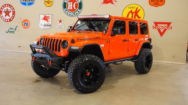 2018 Jeep Wrangler JL Unlimited Rubicon 4X4 LIFTED,BUMPERS,LED'S,XD WHLS