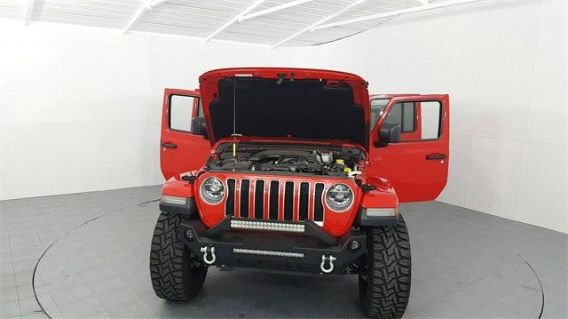 2018 Jeep Wrangler Unlimited Sahara LIFTED W/CUSTOM TIRES AND WHEELS in McKinney Texas, 75070