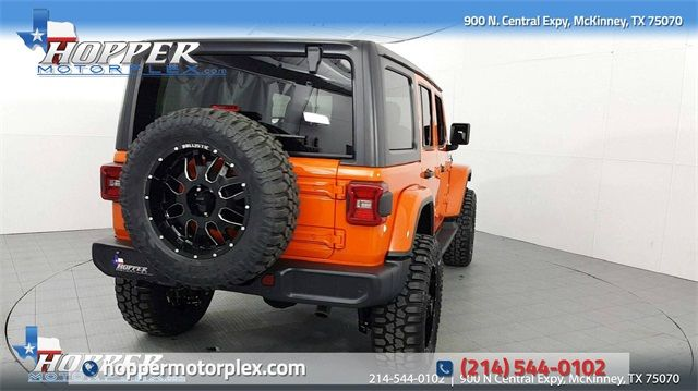 2018 Jeep Wrangler Unlimited Sahara Lifted Custom Wheels in McKinney, Texas 75070
