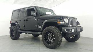 2018 Jeep Wrangler Unlimited Sahara LIFT/CUSTOM WHEELS AND TIRES in McKinney, Texas 75070