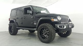 2018 Jeep Wrangler Unlimited Sahara LIFT/CUSTOM WHEELS AND TIRES in McKinney, Texas 75070