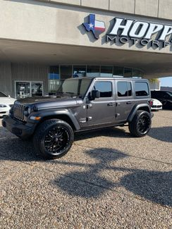 2018 Jeep Wrangler Unlimited Sport Custom Lift , Wheels & Tires in McKinney, Texas 75070