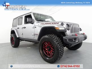 2018 Jeep Wrangler Unlimited Rubicon LIFT/CUSTOM WHEELS AND TIRES in McKinney, Texas 75070