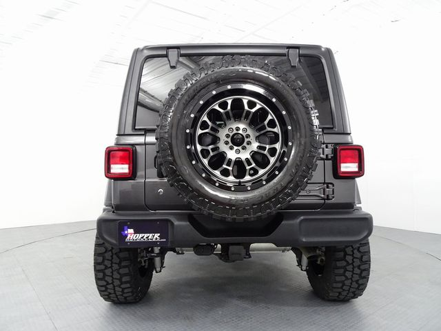 2018 Jeep Wrangler Unlimited Sport w/ Custom Lift, Wheels and Tires in McKinney, Texas 75070