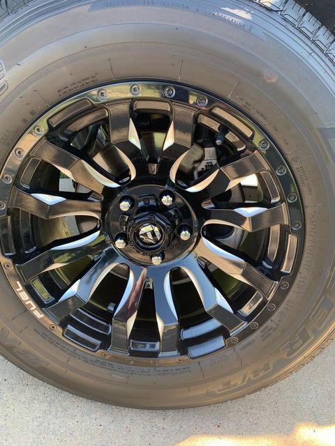 2018 Jeep Wrangler Unlimited Sahara CUSTOM WHEELS AND TIRES in McKinney, Texas 75070