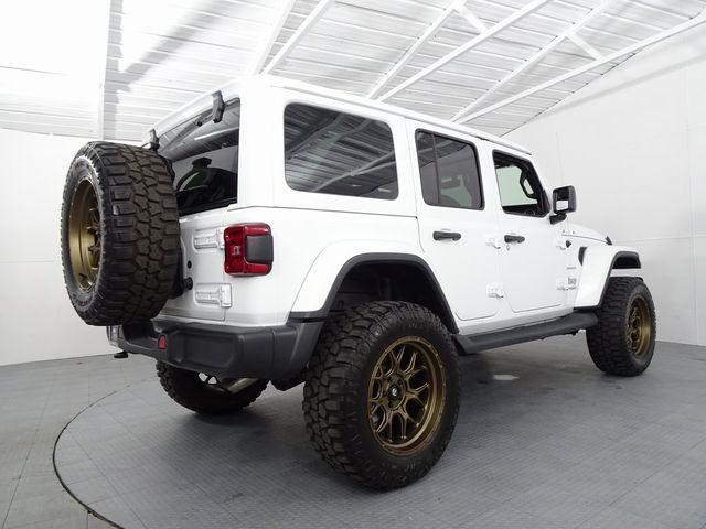 2018 Jeep Wrangler Unlimited Sahara NEW LIFT /CUSTOM WHEELS AND TIRES in McKinney, Texas 75070