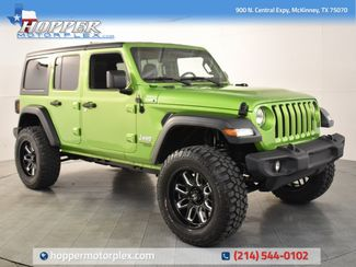2018 Jeep Wrangler Unlimited Sport NEW CUSTOM LIFT/WHEELS AND TIRES in McKinney, Texas 75070