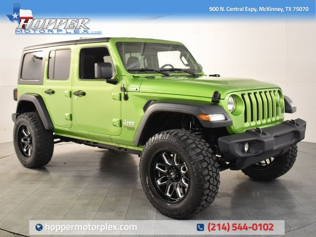2018 Jeep Wrangler Unlimited Sport NEW CUSTOM LIFT/WHEELS AND TIRES