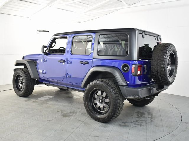 2018 Jeep Wrangler Unlimited Sport LIFT/CUSTOM WHEELS AND TIRES in McKinney, Texas 75070